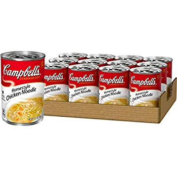 Campbell s Condensed Homestyle Chicken Noodle Soup 10.5 Ounce  Pack of 12   Packaging May Vary