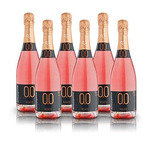alternativa® - Pétillant Rosè Sweet - 0.0% vol (Carton de 6 bouteilles 750ml)