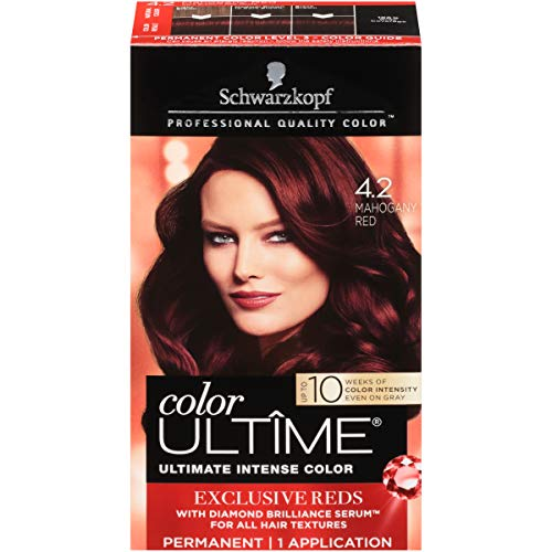 Schwarzkop Permanent Hair Color in Mahogany Red