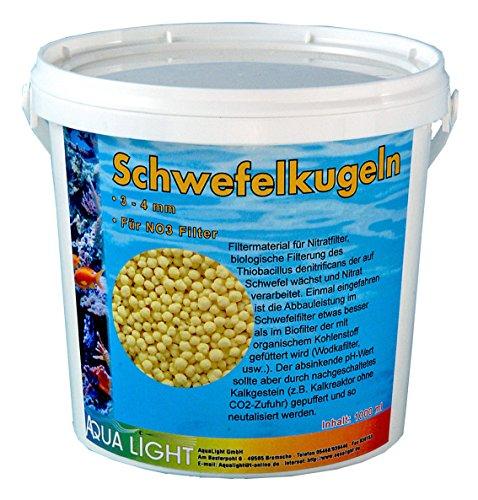Schwefelkugeln Nitratfilterung 1000ml