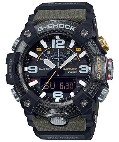 [カシオ] 腕時計 ジーショック Bluetooth 搭載 カーボンコアガード構造 GG-B100-1A3JF メンズ グリーン