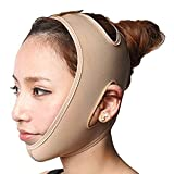 KOLIGHT Anti Wrinkle V Full Face Chin Cheek Lift up Slim Slimming Thin Mask Belt Band Strap (XL)