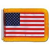 Unbekannt Antennen Flagge USA