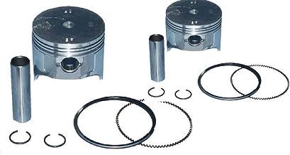 Nivel Set of 2 Ezgo 350 Engine Standard Piston and Rings