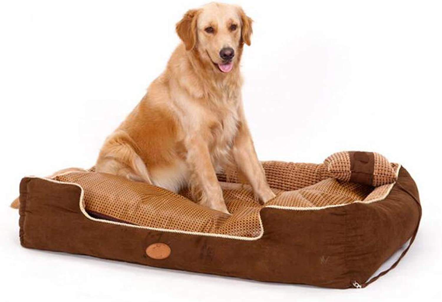 HighEnd Pet Bed, Detachable And Easy To Clean And Comfortable Pet Sofa Cat And Dog Bed, S, M, L,S