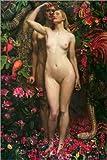 Poster 61 x 91 cm: Adam und Eva mit der Schlange von Byam
