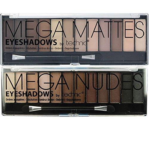 Technic, Mega Nudes & Mega Matte Nudes, 2 trousse di ombretti