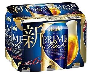 クリアアサヒ プライムリッチ 缶 [ ビール 350ml×6本 ]