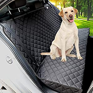 Paw Jamboree Bench Dog Car Seat Cover for Back Seat Waterproof Dog Car Seat Covers Nonslip Back Seat Cover for Dogs Pet Car Seat Cover for Cars, Trucks & SUV