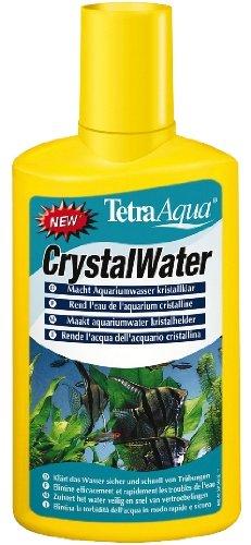 Mühlan Aquatic Plants Tetra Crystal Water Produit nettoyant pour eau d'aquarium 250 ml