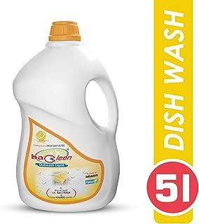BACLEEN Dish Wash 5L   Dish cleaning gel   Dish wash detergent   Dishwash gel (5 Litre)