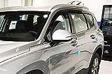 Autoclover Lot de 6 déflecteurs d'air pour Hyundai Santa Fe 2018+