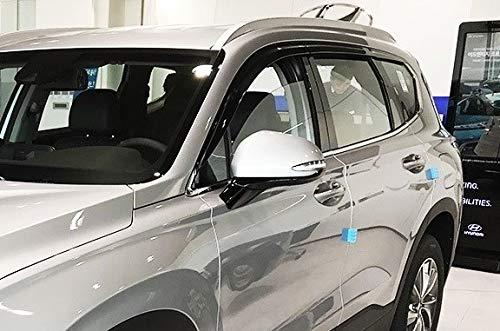 Autoclover Windabweiser-Set, 6-teilig, für Hyundai Santa Fe ab 2018 (6 Stück)