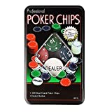 RIANZ Poker Chips Casino Game Playing Cards (Assorted, Set of 100)