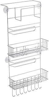 aipipl Accueil-Organisateur de Rangement Support de réfrigérateur monté sur Le côté Support de Rangement Cuisine Suspendue...