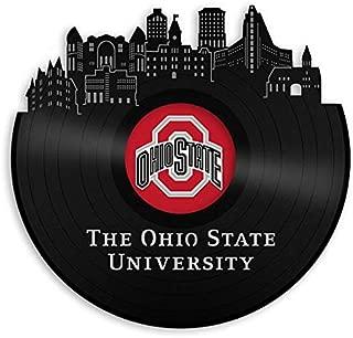 VinylShopUS - Ohio State University Vinyl Wall Art Record School Universities   Bachelor Gift for Student   Decoration Home Office Decor