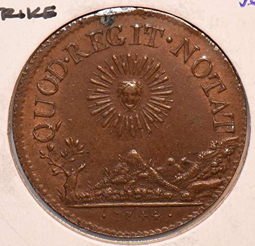 1744 FR France 1744 Token Jeton AFFINAGES DE LYON F0128 DE PO-01