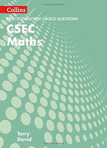 CSEC Maths Multiple Choice Practice