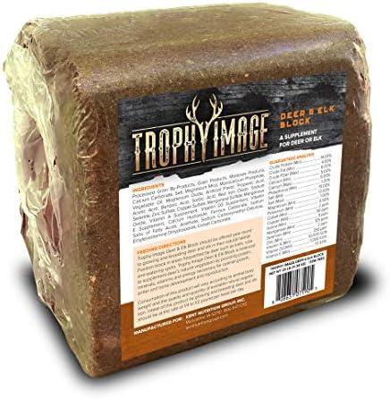 TROPHY IMAGE Deer Elk Attractant Mineral Block 25 Pound product image