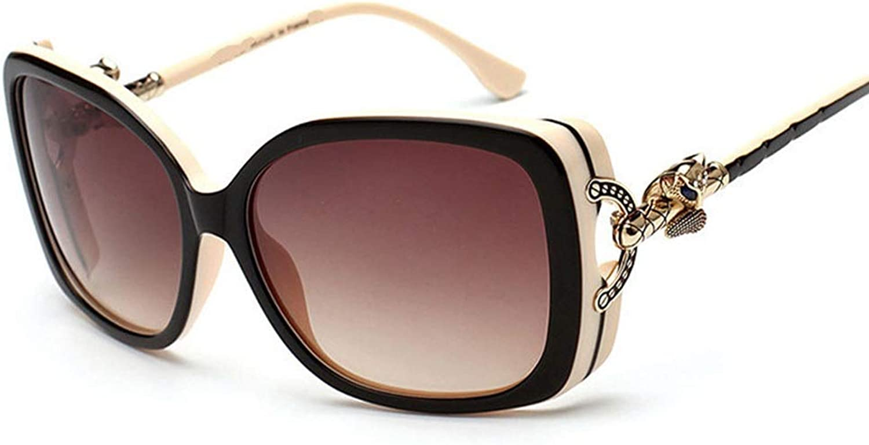 Saalising Women's Trend Sunglasses, Polarized Sunglasses with Unique Accessories (color   Black White)