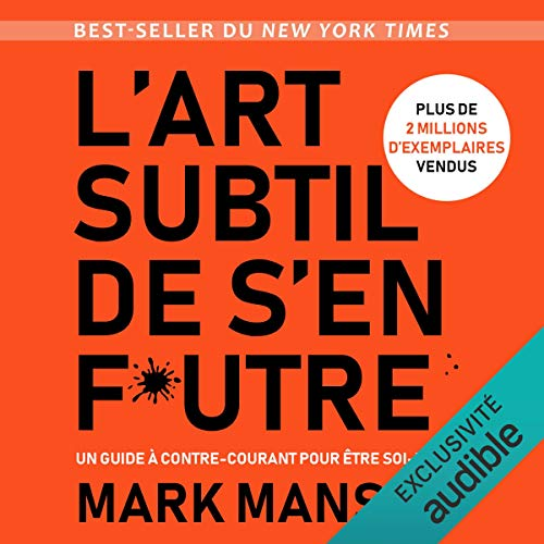 L'art subtil de s'en f*utre audiobook cover art