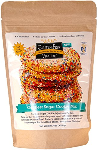 Gluten-Free Prairie Our Best Sugar Cookie Mix, Certified Gluten Free Purity Protocol, Non-GMO, 16 Ounces