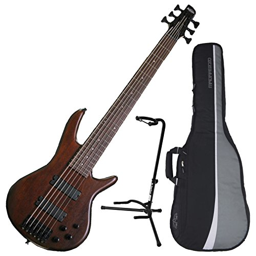 Ibanez GSR206BWNF 6-String Electric Bass Walnut Flat Finish