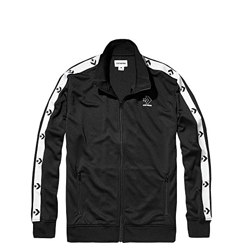 Converse Herren Star Chevron Track Jacket Jacke, Schwarz Black 001, X-Large