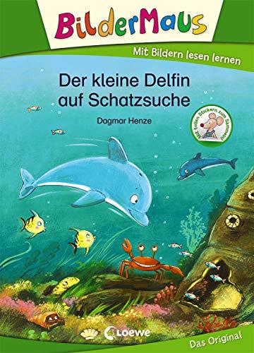 Bildermaus - Der kleine Delfin auf Schatzsuche: Mit Bildern lesen lernen - Ideal für die Vorschule und Leseanfänger ab 5 Jahre