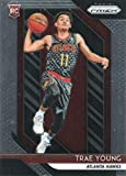 2018-19 Panini PRIZM - Trae Young - Atlanta Hawks NBA Basketball Rookie Card - RC Card #78. rookie card picture