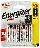 Energizer Max Alkaline AAA Batteries - Pack of 6