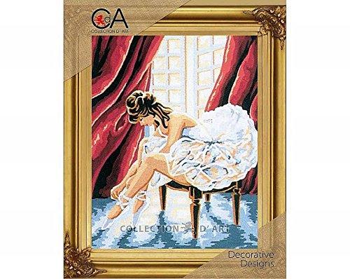Duftin 6035K la Bailarina Kit de Tapiz algodón, Multicolor 20x 30x 0,1cm