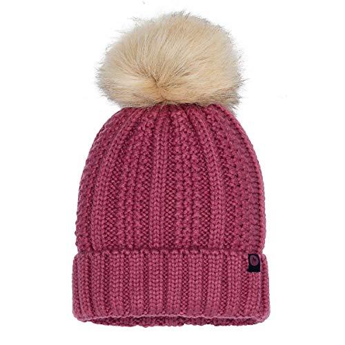 Marmot Wm's Bronx Pom Hat Chapeau Femme, Dry Rose, One