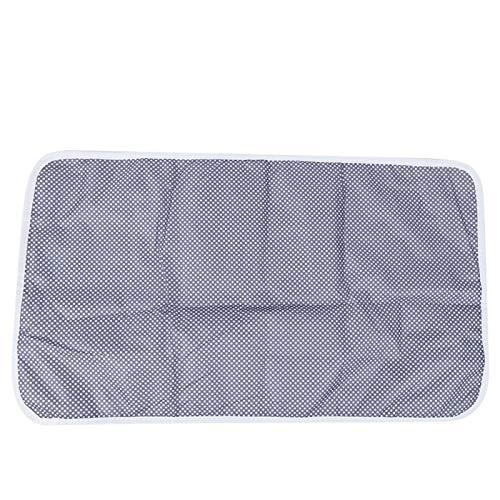 Sábana impermeable, protector de colchón de cuna, para cestas/cunas(White hollow circle)