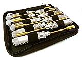 Integy RC Model Hop-ups C27110GUN Professional 9pcs Nut Driver Set w/ 22mm Size Handle & Tool Carrying Bag