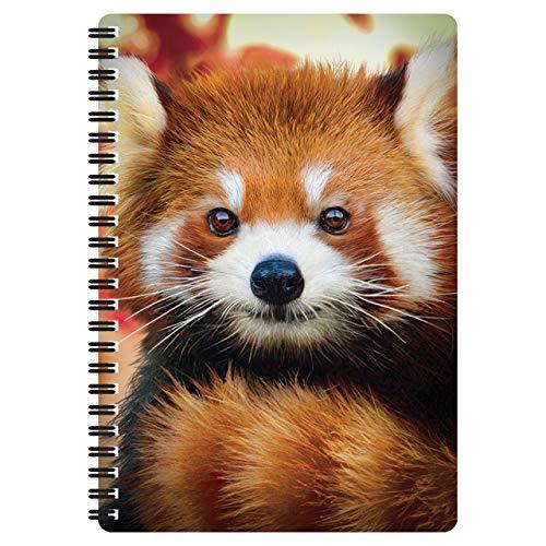 3D LiveLife A5 Quaderno - Cucciolo di Panda Rosso di Deluxebase. Quaderno Panda Rosso 80 Pagine 3D lenticolare. Magnifico articolo da scuola o ufficio con grafica del famoso artista Michael Searle