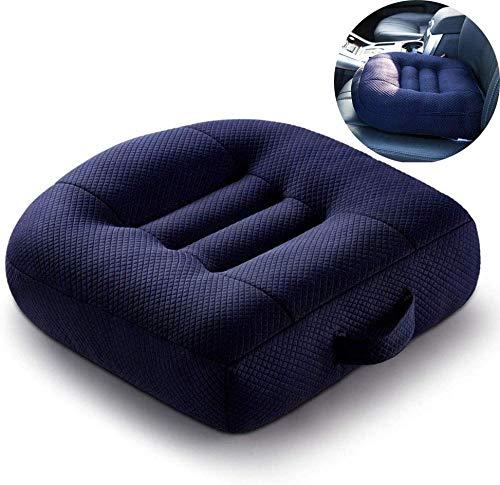 Rijden Dik Auto Stoel Kussen, Niet vervormbaar Geheugen Sponge, Geschikt voor Auto Stoel Rolstoel Kantoorstoel, Auto Bestuurder Rijden voor Een Lange Tijd Verminder Pijn