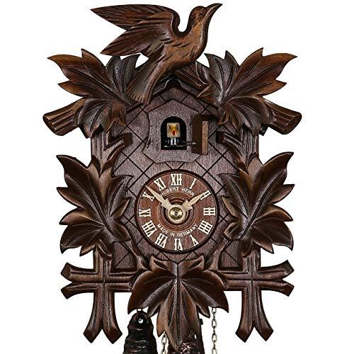 Haus der 1000 Uhren Kuckucksuhr - Vogelmotiv - mechanischer Antrieb - 24h-Laufwerk -