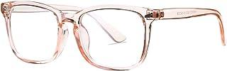 Unisex Square Non-Prescription Glasses for Women Men Optical Glasses Clear Lens Nerd Eyeglasses Frames