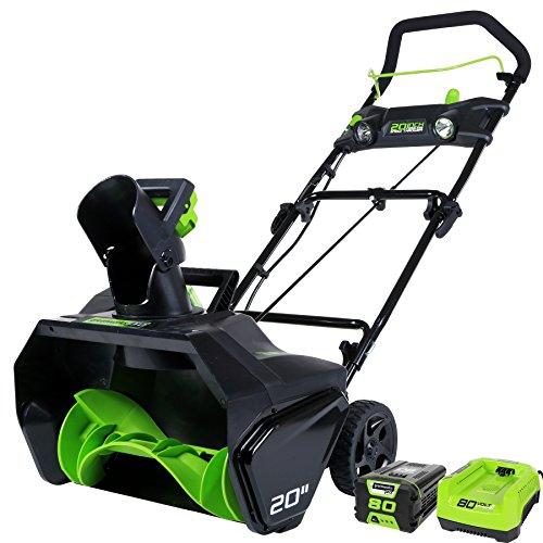 Greenworks PRO 2600402 80V Cordless Snow Thrower