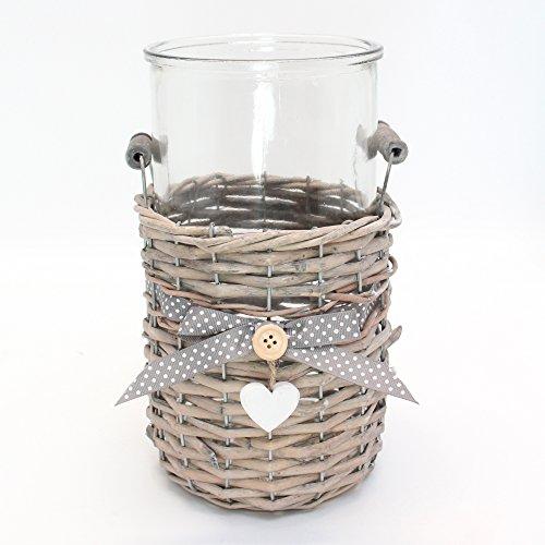 """Deko-Vase """"Lovely Cottage"""" (2-teilig)"""