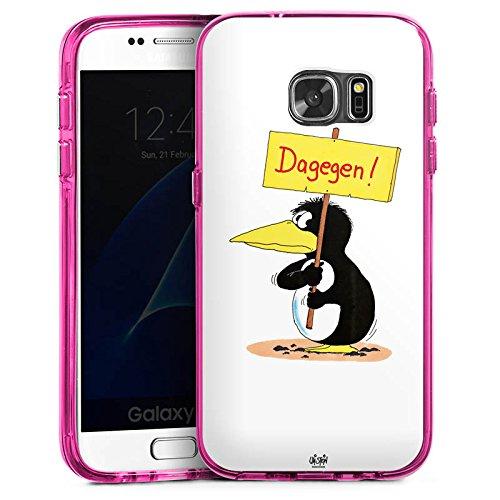 Samsung Galaxy S7 Bumper Hülle Bumper Case Schutzhülle Uli Stein Fanartikel Merchandise Dagegen