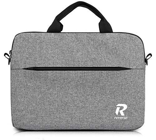 Reverse Laptoptasche, Laptophülle 17,3 Zoll stoßfest Notebooktasche Laptop Schutzhülle Notebook Schutztasche Sleeve Hülle PC Laptop Schutztasche (Grey, 17