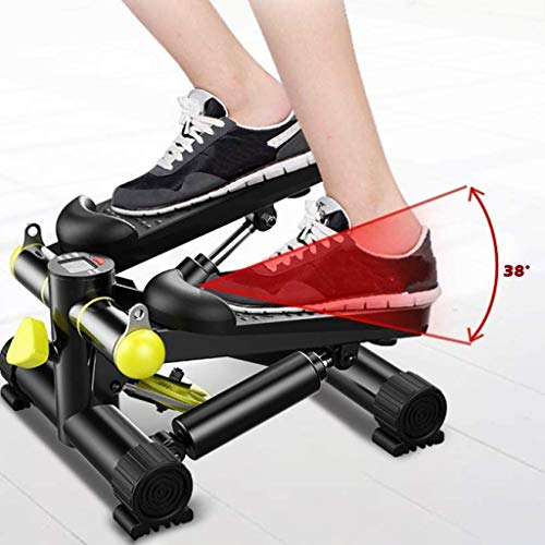 Product Image 6: DOYCE Fitness Stair Stepper for Women and Man,Mini Stepper Fitness Cardio Exercise Trainer,Height Adjustable StepperTwisting Machine,Stepper Exercises Equipment with LCD Monitor and Resistance Bands