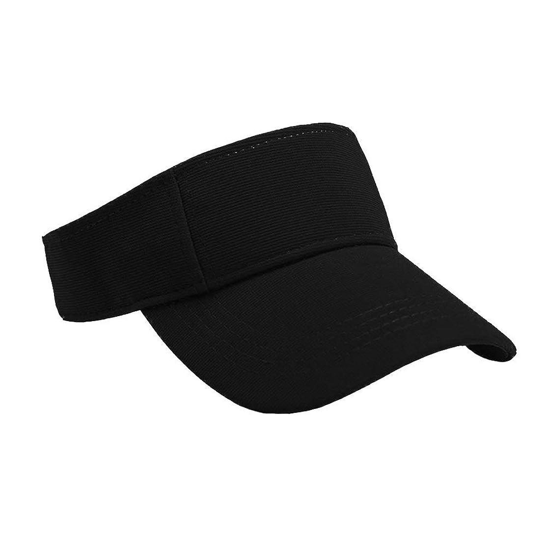 事故コミットつぶやきMerssavo ユニセックスサマースポーツキャップ、サン帽子レディーステニスゴルフバイザーメッシュ野球帽、調節可能な屋外オープントップヘッドトラベルハイキング帽子、黒