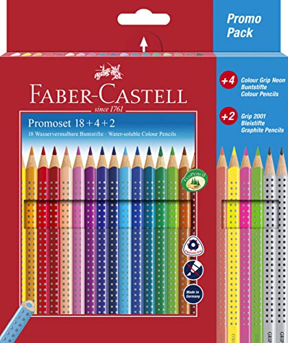 Faber-Castell - Matite colorate 24er Promotionset