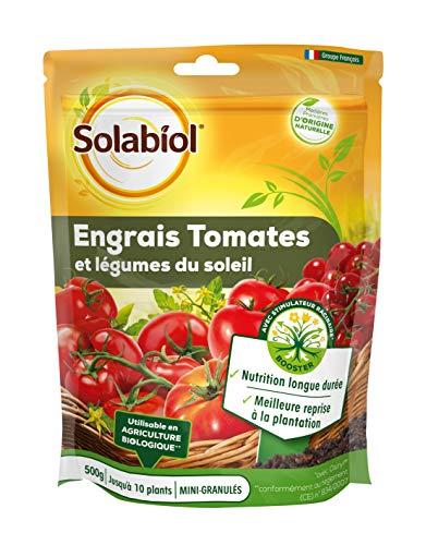 SOLABIOL SOTOMY500 Engrais Tomates Fruits 500 G | Légumes du Soleil | Nutrition Longue durée