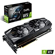 ASUS GeForce RTX 2070 Advanced Overclocked 8G GDDR6 Dual-Fan Edition VR Ready HDMI DP USB Type-C Graphics Card (DUAL…