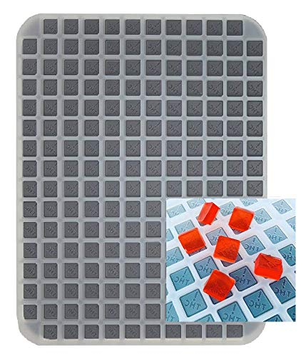 Colorado & Ohio State THC Logo - Silicone Half Sheet Mold For Gummies, Candies and Chocolates - 188 Cavity