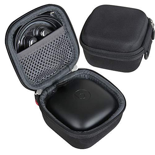 Hermitshell Newest Design Hard Travel Case for Powerbeats Pro Wireless Earphones (Black)